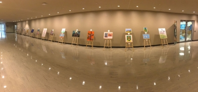 ILAN exhibits for the first time paintings at UN headquarters in New York!